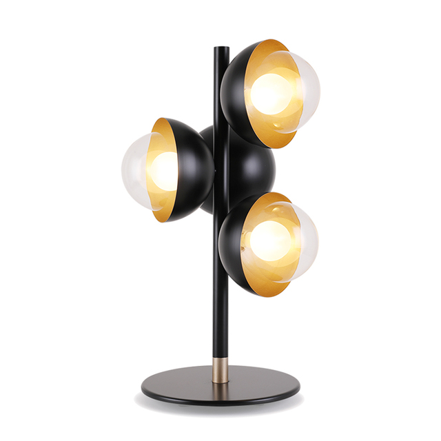 Aliexpress Com Buy Nordic Post Modern 4 Lamp Table Lamps Frosted
