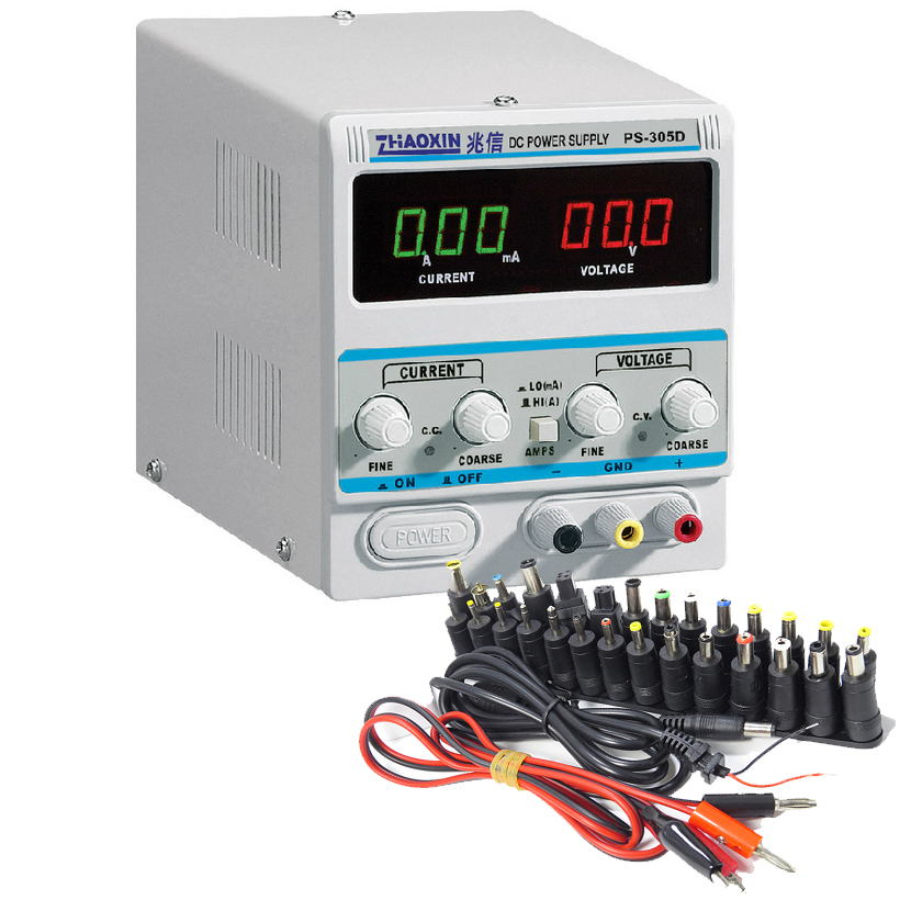 ZHAOXIN Variable 30V 5A DC Power Supply For Lab PS-305D Adjustment Digital Regulated DC Power Supply zhaoxin ps 305d variable 30v 5a dc power supply for lab adjustment digital regulated dc power supply ac 110v 220v 10%