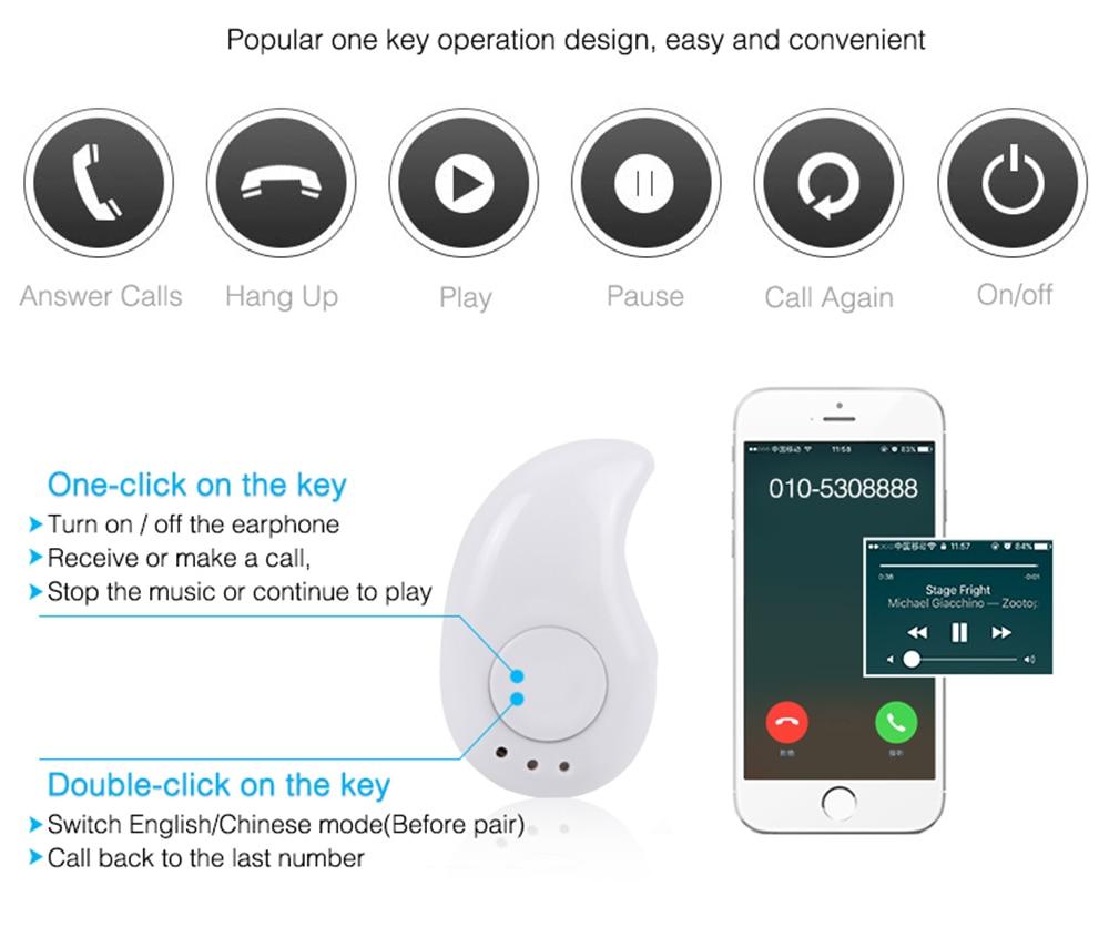 Simsiz Bluetooth qulaqlıq musiqi idman simsiz qulaqlıq simsiz - Portativ audio və video - Fotoqrafiya 3