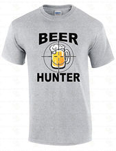 Hot Selling 100% Cotton O-Neck Beer Hunter St Patricks Day  Humor Party Drinking Beer Short Sleeve Office Tee For Men
