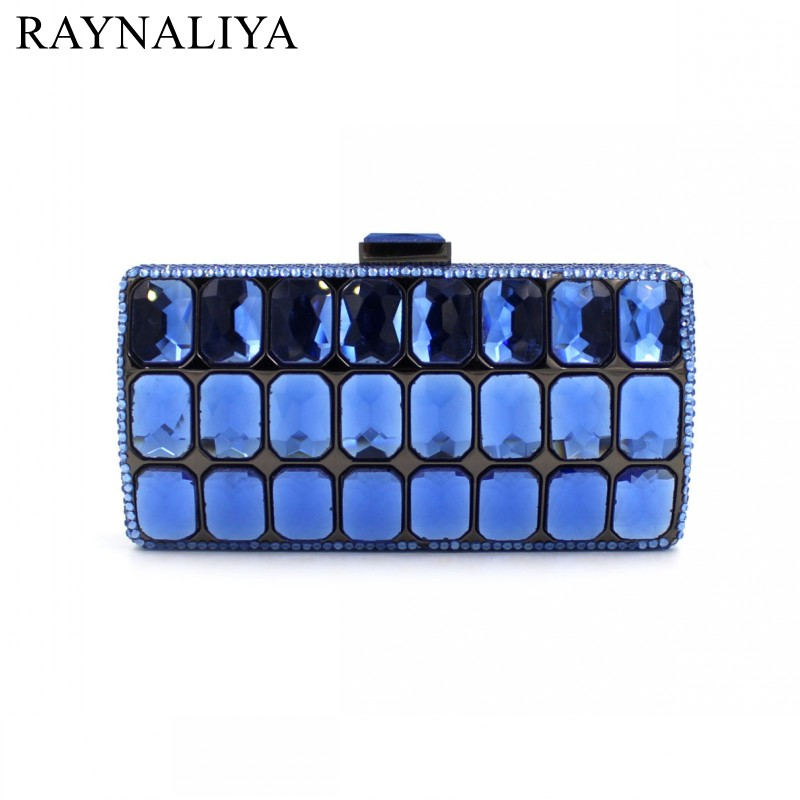 Mini Clutch Bags Box Shape Luxury Crystal Evening Bags Party Clutch Purse Gold Red Women Wedding Bag Soiree Pochette SMYZH-E0136 luxury crystal pearl clutch party evening bags women pochette soiree purse crystal bead wedding pouch bags green pink blue red