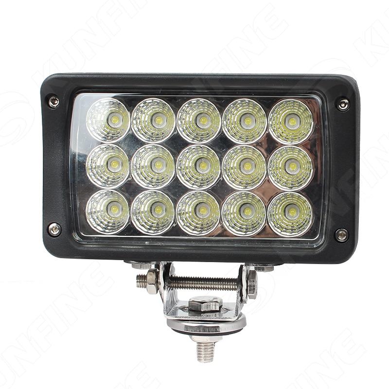 6.0 inch 45W LED Work Light 12V~30V DC LED Driving Offroad Light For Boat Truck Trailer SUV ATV LED Fog Light Waterproof