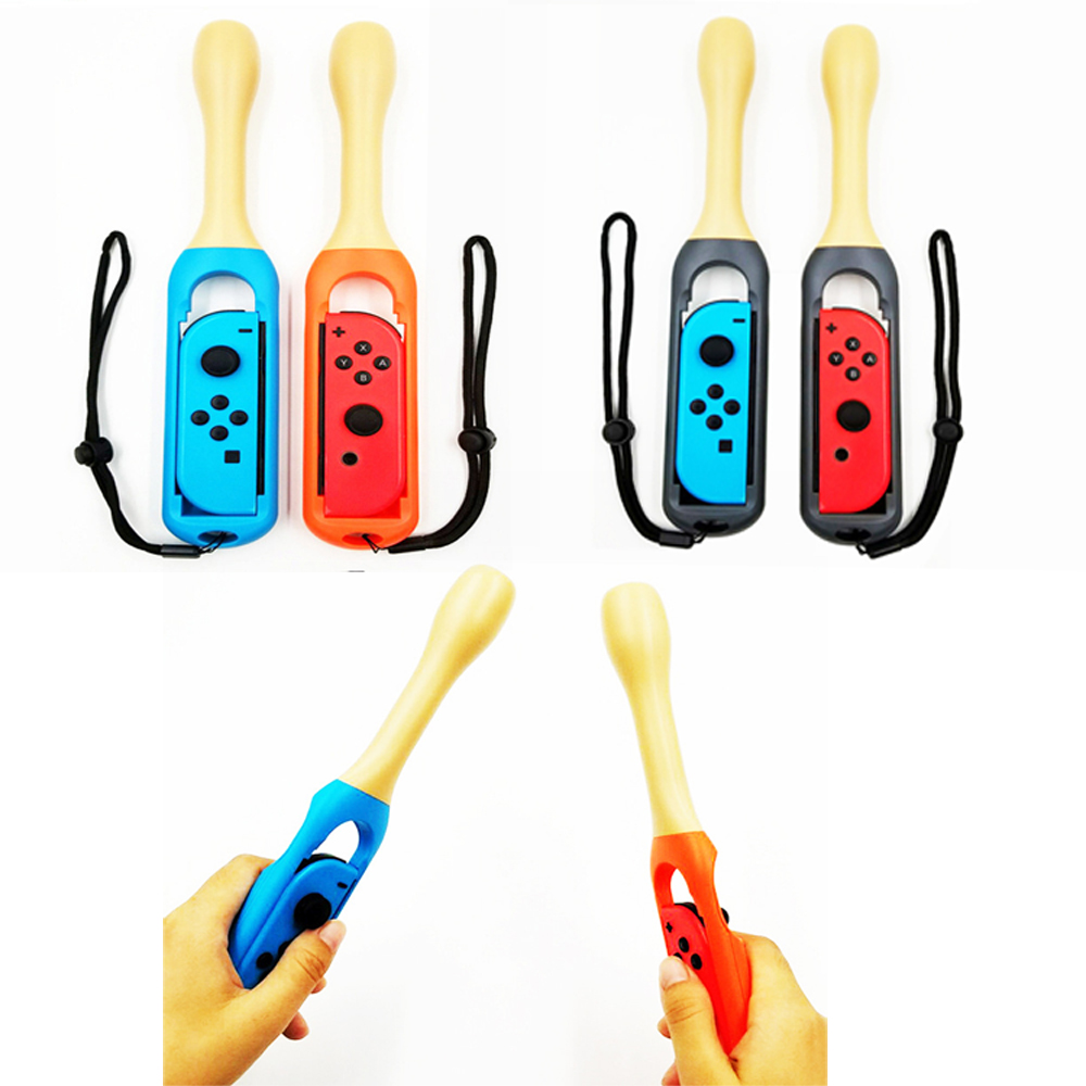 10pair Drumstick Kinect Hand Grip Holder Handle Controller for Nintend Switch NS JOY-CON Game Playing alloyseed motion sensing game controller for taiko drum game drumstick kinect handle set hand grip gamepad for nintend switch ns