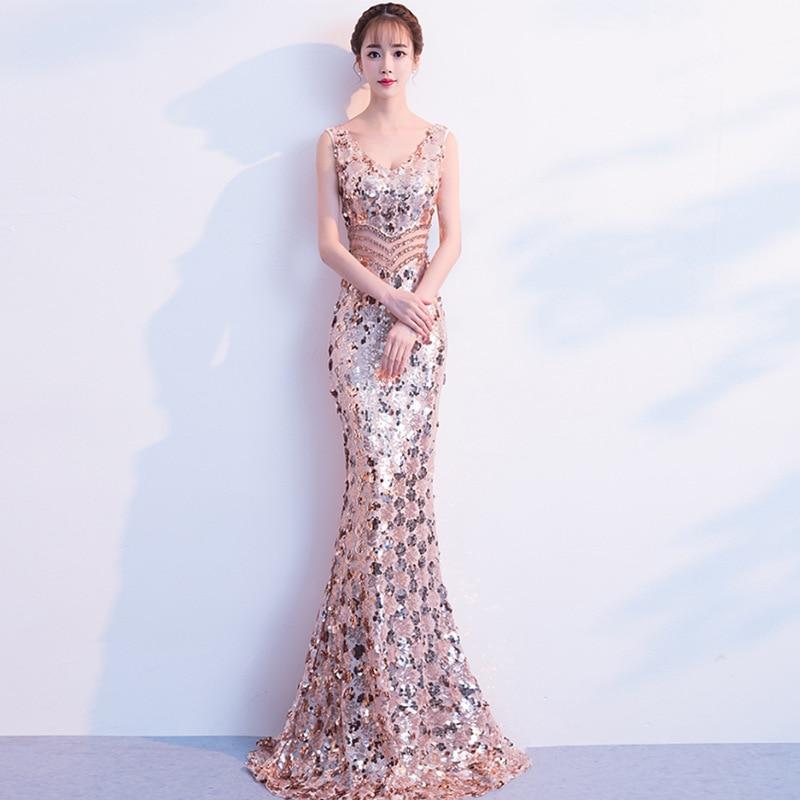 Bride Cheongsam Oriental Women Wedding Qipao Fashion Chinese Style Elegant Long Dress Luxury Robe Party Dresses