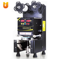 9.5cm automatic cup sealing machine / juice cup sealing machine