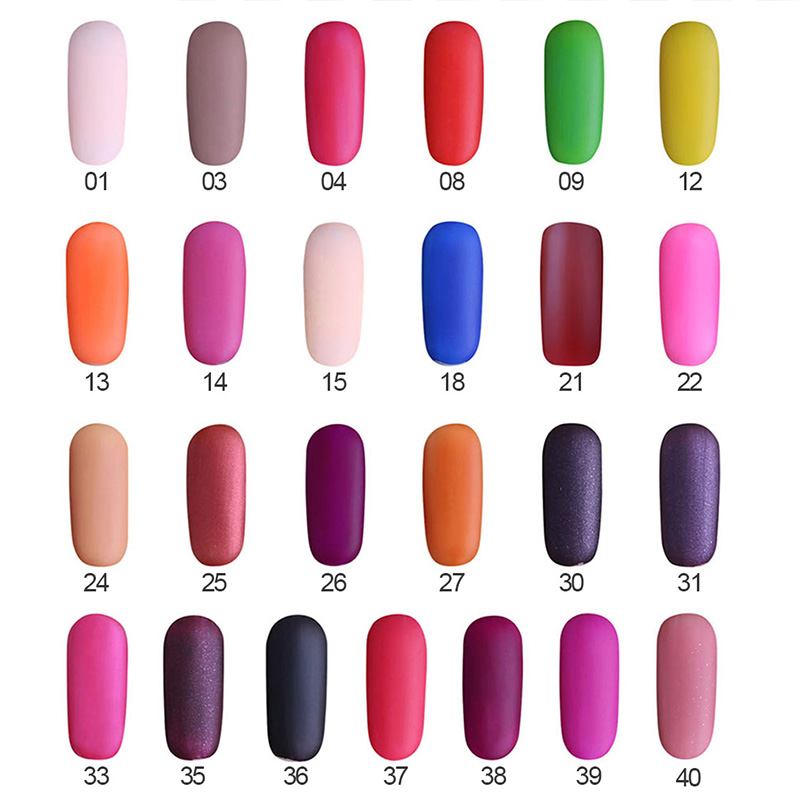 Nail Polish Matte Nail Polish Natural Ingredients Non toxic Nail ...