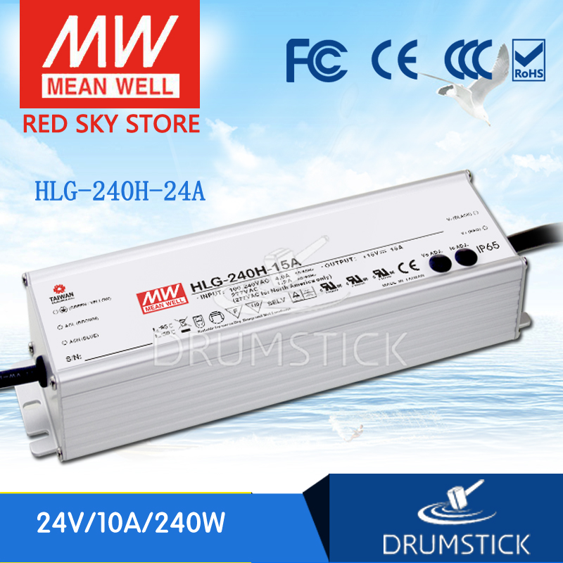 MEAN WELL HLG-240H-24A 24V 10A meanwell HLG-240H 240W Single Output LED Driver Power Supply A type