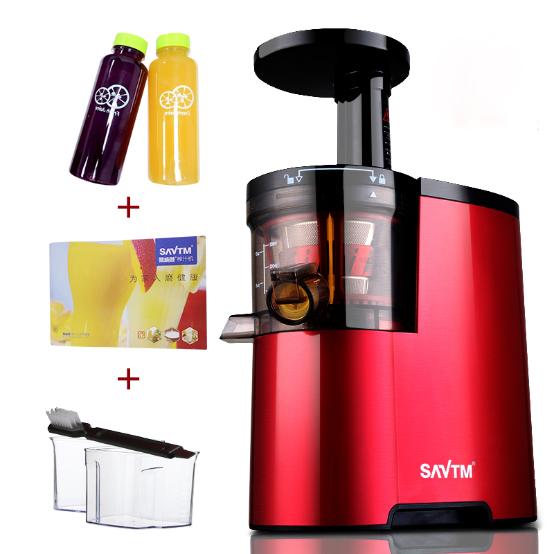 цена на 200W Slow Juicer Fruits Vegetables Low Speed Slowly Juice Extractor Juicers Fruit Drinking Machine 220V-240V