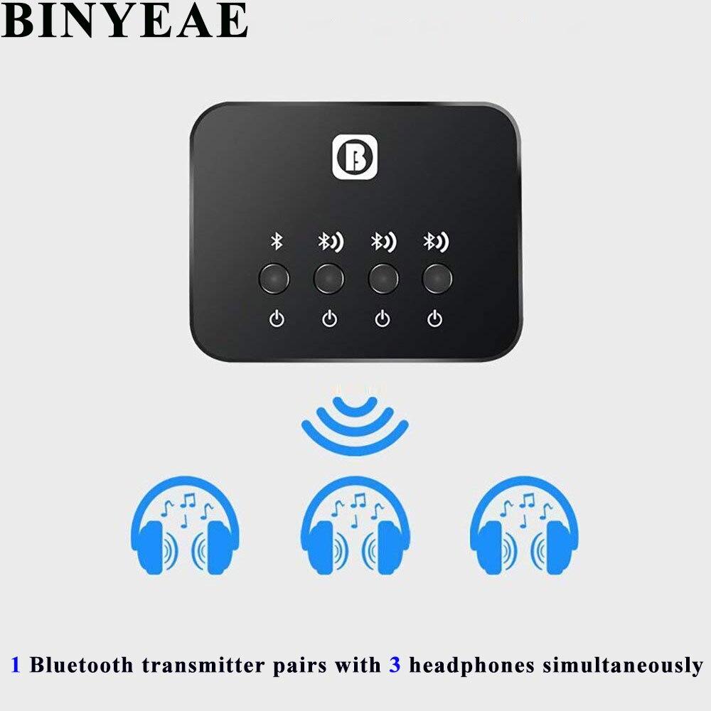 WunderschöNen Triple Link Bluetooth 4,0 Stereo 3,5mm Home Tv Audio Rca Sender Empfänger Wireless Music Adapter Sharing Laucher Gerät Funkadapter