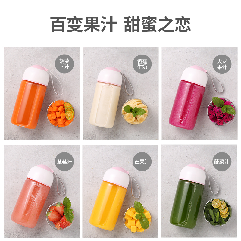 Juicer   Automatic  Portable USB Rechargeable Mini Juicer Machine Fruit Juicer Students Small Electric  Juice Cup 3