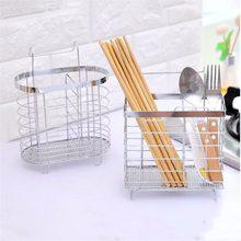 1 unid almacenamiento vajilla estante de la cocina escurridor cubiertos  portátil palillos cuchara zorro caja de f277ba1ae7f3