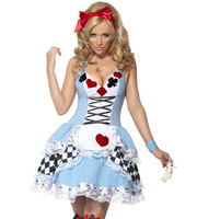 The New Blue Maid Service Casplay Fun Sexy Halloween Costume Stage Performance Clothing Animation Casplay Lovely
