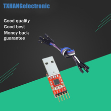 1pcs CP2102 module USB to TTL serial UART STC download cable PL2303 Super Brush line upgrade serial port com port brush download module usb 485 422 232 ttl