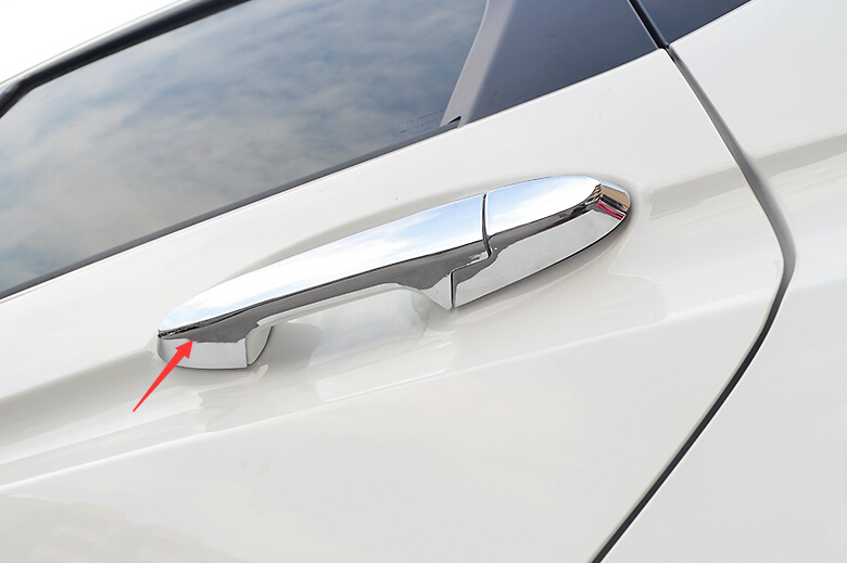 With Smart Key Hole Model Automobiles & Motorcycles Interior Accessories Constructive Yimaautotrims Side Car Door Handle Cover Trim Abs Fit For Honda Fit Jazz 2014 2015 2016