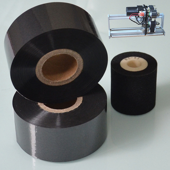 Black Width 35mm length 120M hot roll foil on Medical industry