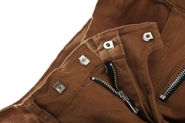 Batmo 2018 New Men Nightclubs brown Jeans,Famous Brand Fashion Designer Denim Jeans Men,plus-size 28-38, casual jeans