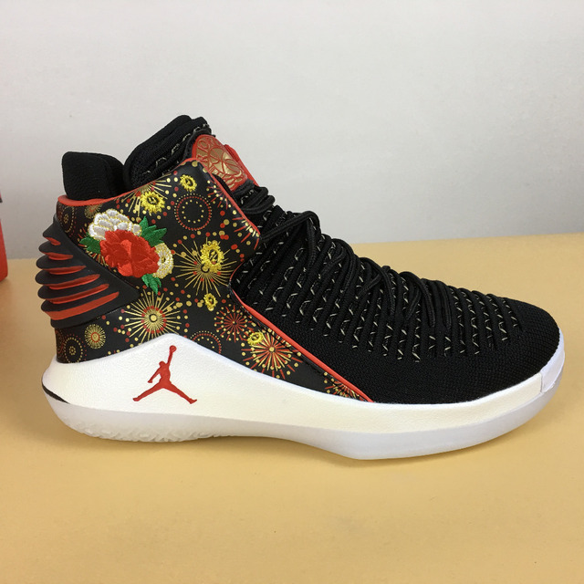 c32b61b0e00 Jordan XXXII PF CNY AJ32 Men Basketball shoes Rosso Corsa Crack Flights  Speed Athletic Outdoor Sport Sneakers 40-47