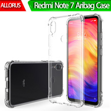 Anti-Knock Clear Phone Case Redmi Note 7 Transparent Silicone Back Protective Cover for Xiaomi