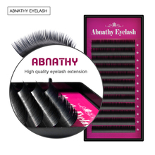 All Size J B C D Curl 4pcs/lot Charming Lashes extensions ciglia finte individual  faux falsa eyelashes extension