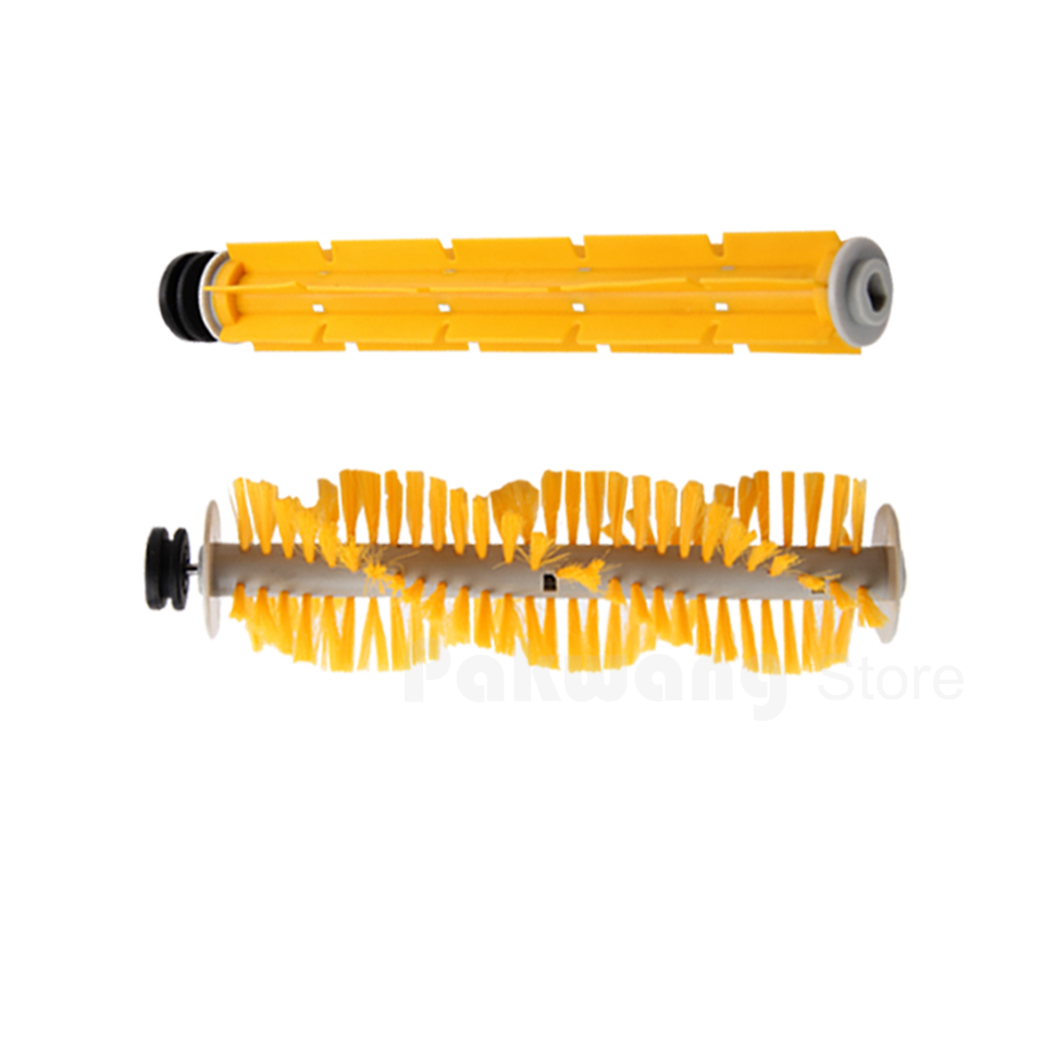 Original A325 Rubber brush and Hair brush vacuum cleaner spare parts supply from factory for cleaner a320 or a325 hair brush rubber brush for robot vacuum cleaner a320 or a325 vacuum cleaner parts