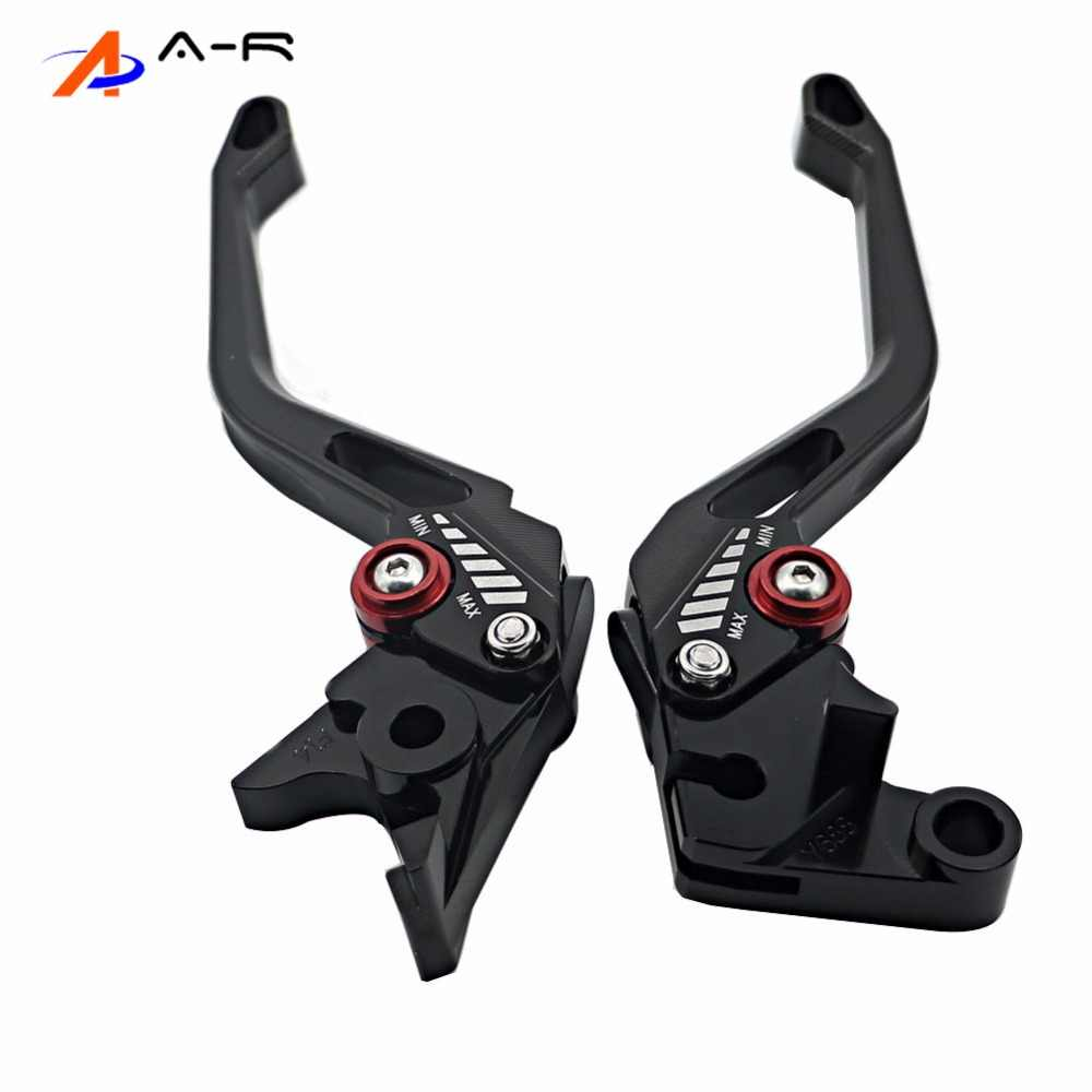 5D Short Long Brake Clutch Levers For Yamaha YZF R1 YZF-R1 YZFR1 2002 2003 R6 YZF-R6 YZFR6 1999 - 2004 2000 FZ1 FAZER 2001-2005