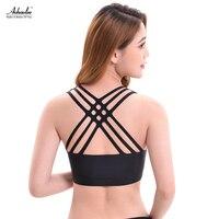 Aohaolee Women S Seamless Bra Removable Padded Sleep Bra Comfort Bralette Hollow Pullover Wire Free Running