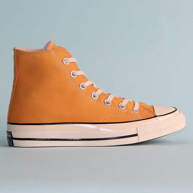 Mới Giày Converse Chuck 70 Retro Phiên Bản 1970 Ban Đầu Tất Cả Các Ngôi Sao Giày Unisex Giày Vàng Trượt Ván Giày 162054C