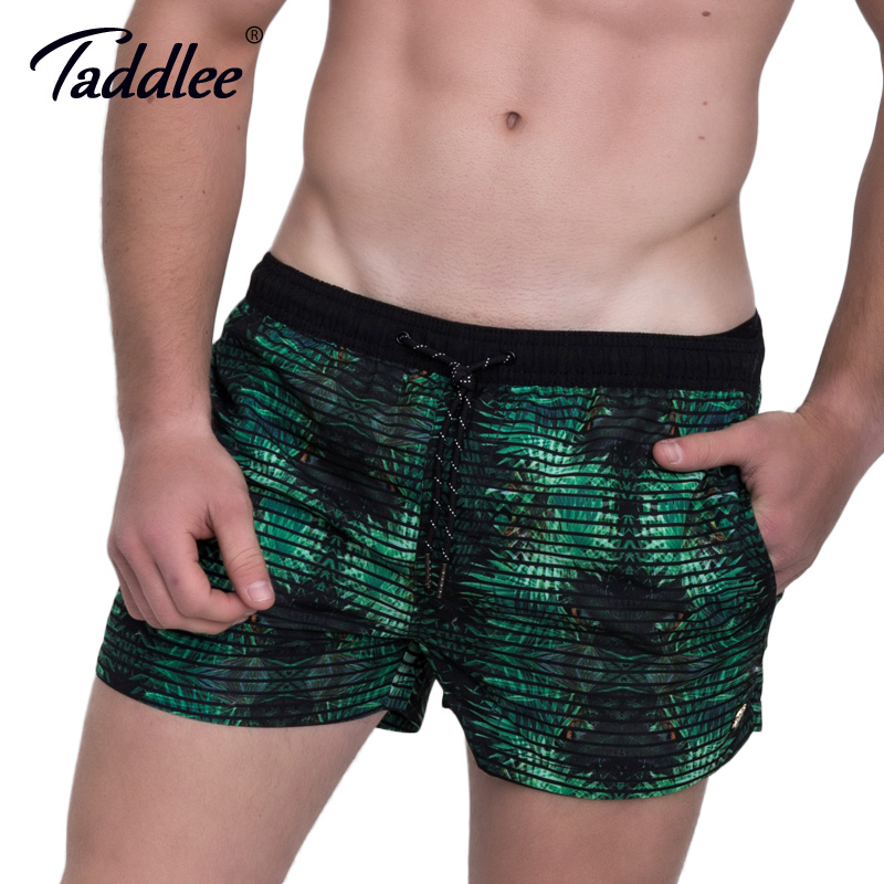 Taddlee Brand Men's Beach   Board     Shorts   Plus Size Quick Drying Male Man Boardshorts Active Swimwear Swimsuits Men Acitve Jogger