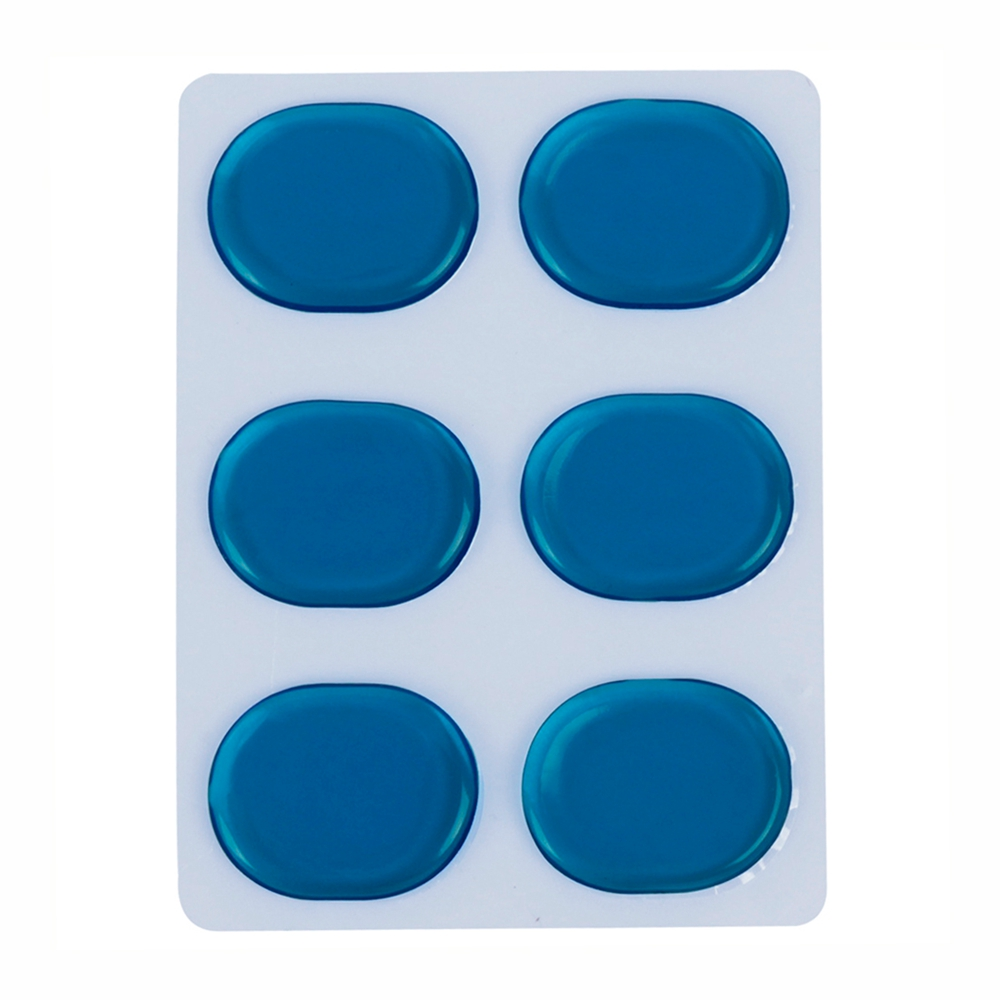 Drum Damper Accessorie Muffler Gel-Pads Percussion-Instrument Mute Pad Transparent 6pcs/Set