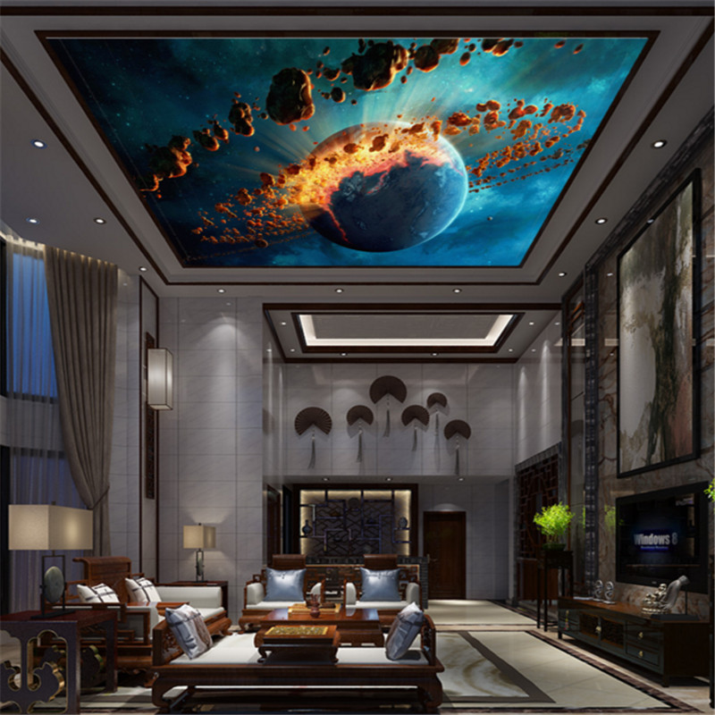 Background Colorful Room: Custom 3d Modern Photo Wallpaper Living Room Bedroom Hotel