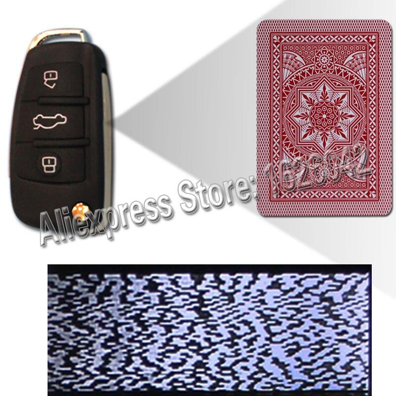 XF Modiano 4 Jumbo Côté Marqué Cartes Pour Poker Analyseur Prédicteur Poker Scanner Tricherie Dispositif