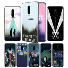 The X Files I Want to Believe Soft Black Silicone Case Cover for OnePlus 6 6T 7 Pro 5G Ultra-thin TPU Phone Back Protective