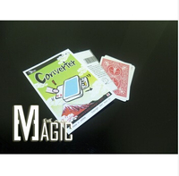 Spedizione gratuita Converter carte Magia close-up di scena strada trucchi magici prodotti