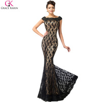 Free Shipping Long Mermaid Slim Lace Evening Dress Party Long Gown Prom Dress New Arrival CL4471