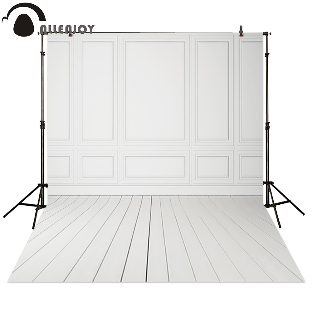 Allenjoy Photography backdrops White wedding simple wood background for photo studio