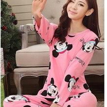 2015 New Women Cotton Pajamas Set Homewear Sleepwear Sets Soft Pajamas Women Nightgown Fashion Style Pajamas