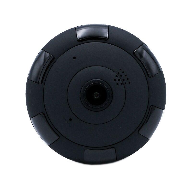 EraSmart Black HD 960P P2P Network Wireless 360 Panoramic Fisheye home security Wi-Fi Camera erasmart hd 960p p2p network wireless 360 panoramic fisheye digital zoom camera white