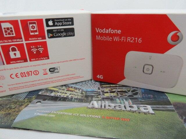 ФОТО Unlocked New Vodafone Pocket Wifi Huawei R216 LTE 4G Unlocked