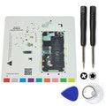 Para iPhone 4S guarda de gráfico mat com abertura magnética Kit novo