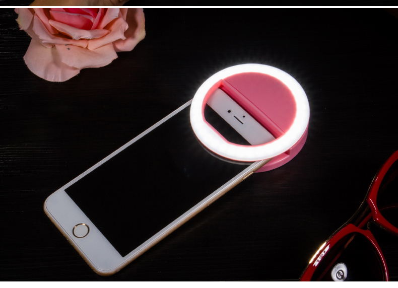 Portable Selfie LED Flash Light – Photography for iPhone & Samsung 2