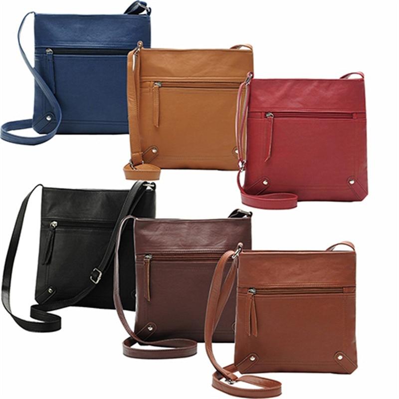 Women's Cross Body Bags PU Leather Women Handbag Lady Messenger Bags for Women Crossbody Bag Female Shoulder Bag bolsas feminina