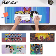 MaiYaCa New Arrivals The Powerpuff Girls Laptop Computer Mousepad Rubber PC Gaming mousepad