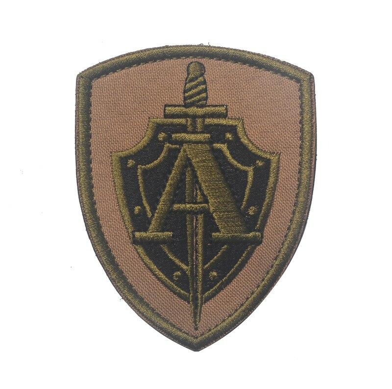 Échelle 1//6 Forces spéciales Russes Spetsnaz alpha team patch lot