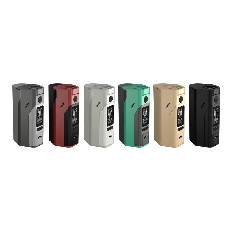 In stock Original Wismec Reuleaux RX2/3 Box Mod updated RX200 150W or 200W power output Dual Circuit Protection 18650 box mod