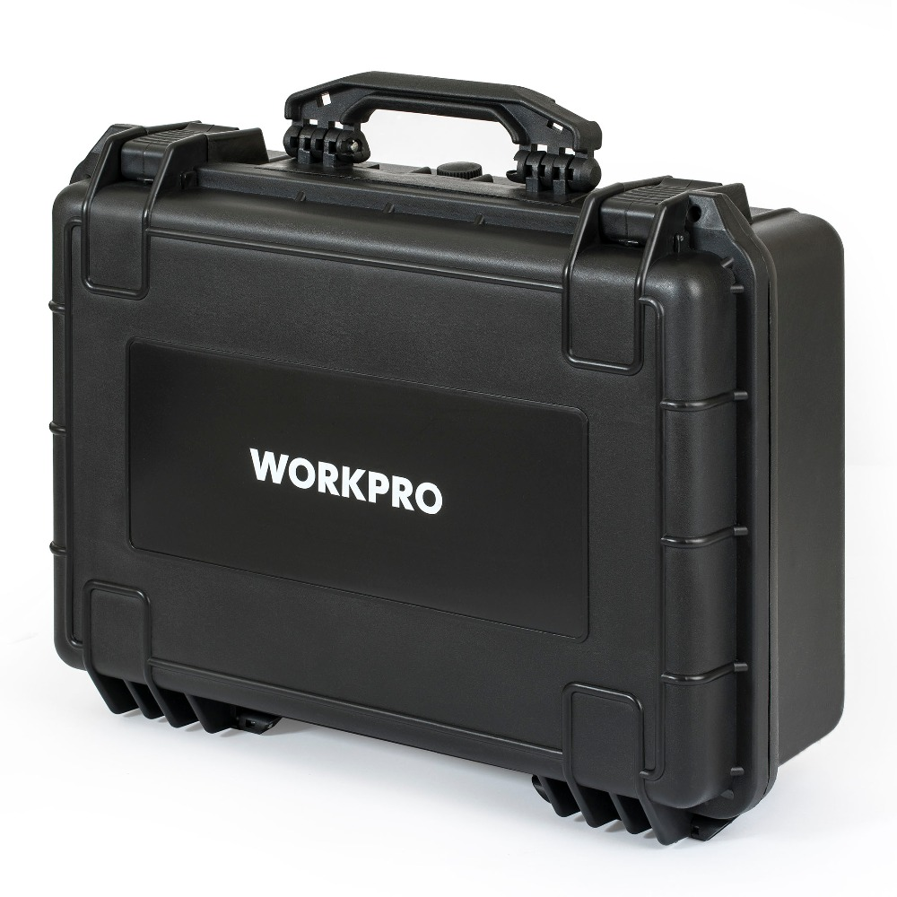 Купить с кэшбэком WORKPRO 110PC Tool Set Hand Tools Home Tool Box Set Waterproof Case