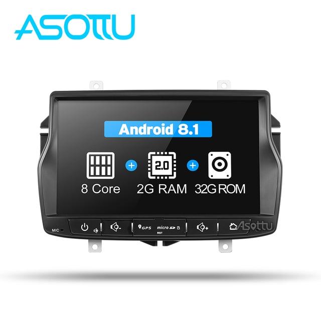 Asottu CLDA8071 2G + 32G android 8,1 dvd del coche para Lada Vesta coche radio video reproductor de audio gps reproductor estéreo de navegación para coche