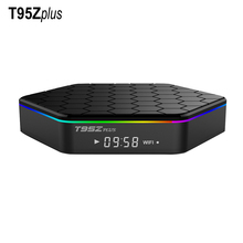T95Z Plus Amlogic S912 Android IPTV TV Box Octa core ARM Cortex-A53 2G/16G Android 6.0 TV Box WiFi BT4.0 2.4G/5.8G H.265 4K Play