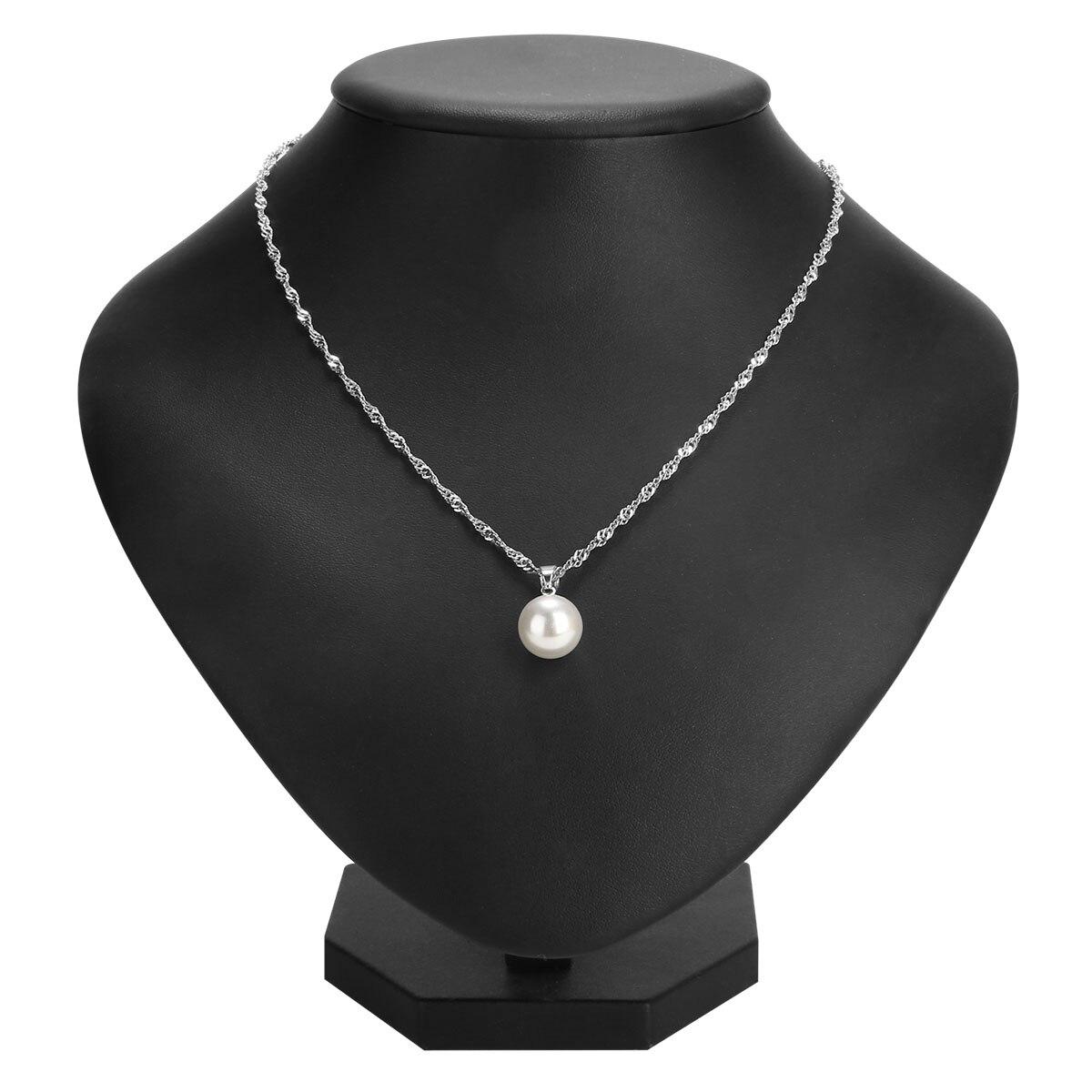 Винтажное жемчужное ожерелье с цепочкой Love Wish, Shellhard, белое ожерелье с имитацией жемчуга, ожерелье с подвеской в виде капли Oyster для женщин, ювелирное изделие