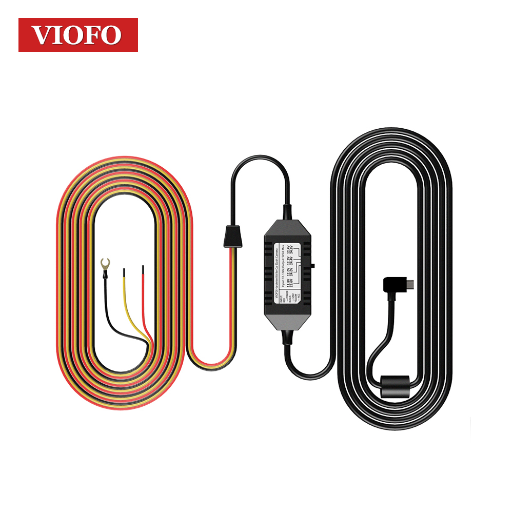 Cables, Adapters & Sockets Viofo Hk3 A129 Car Camera 3 Wire Acc Hardwire Kit Cable For Parking Mode Convenient To Cook