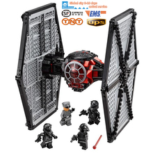 562pz Lepin 05005 Star Wars 7 Power Awakening First Specialties Necktie Fighter Tie Starfighter Building Block Toys for Kids